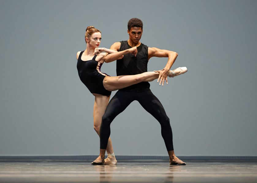 Maria Kochetkova and Francisco Mungamba in Forsythe's 'Pas/Parts'