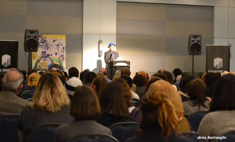 US Poet Laureate Juan Felipe Herrera at Cal State LA - January 28, 2016