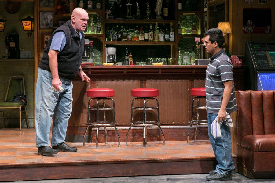 (L-R) Jack Willis as Stan and Reza Salazar as Oscar