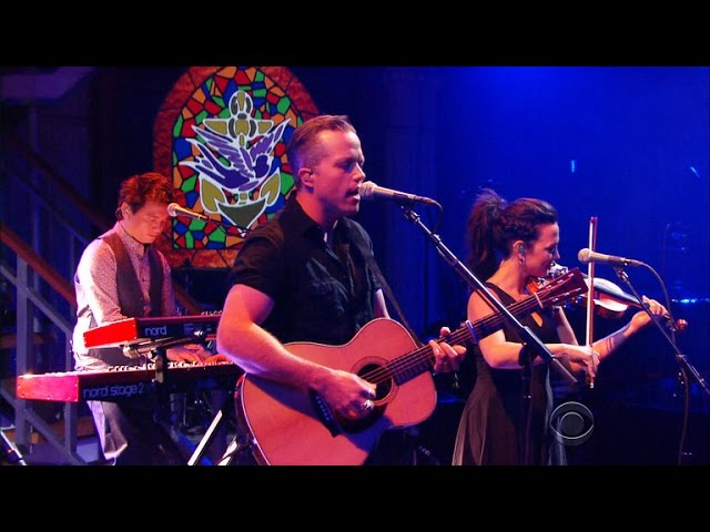 watch jason isbell lights up the late show with stephen colbert axs. Black Bedroom Furniture Sets. Home Design Ideas