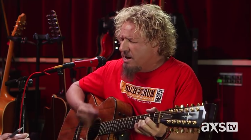 "Sammy Hagar on AXS TV's ""The Big Interview"" with Dan Rather"