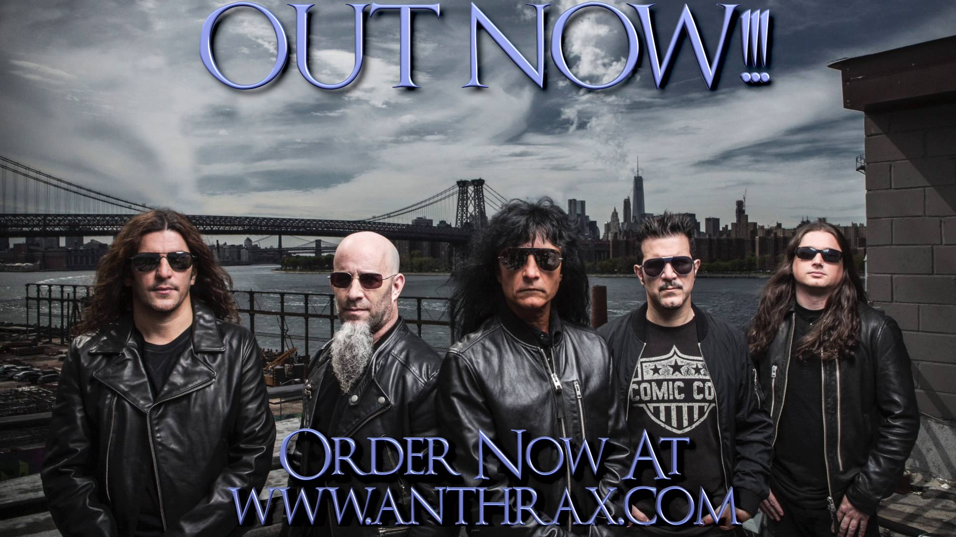 New Anthrax album dominating the world in first four days of release