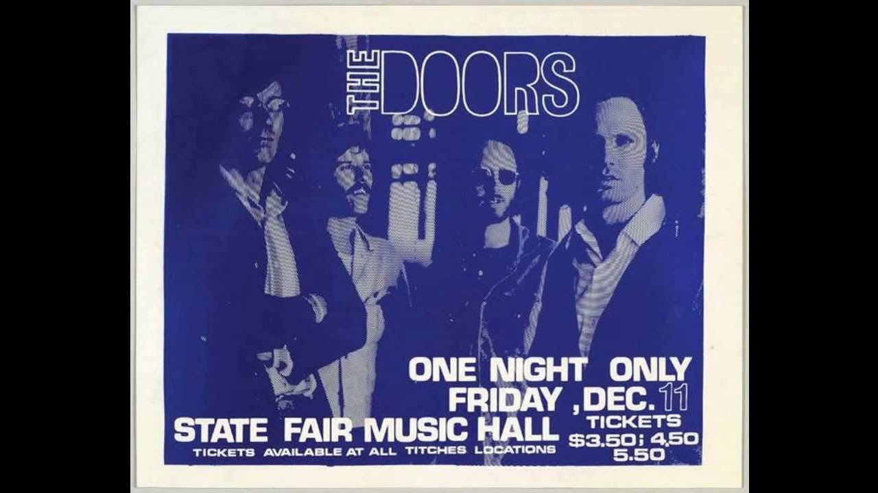 Tape of The Doors in Dallas December 1970 released  sc 1 st  AXS.com & Tape of The Doors in Dallas December 1970 released - AXS
