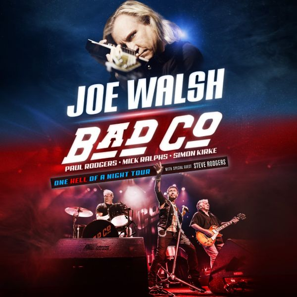 joe walsh bad company announce joint 39 one hell of a night 39 tour axs. Black Bedroom Furniture Sets. Home Design Ideas