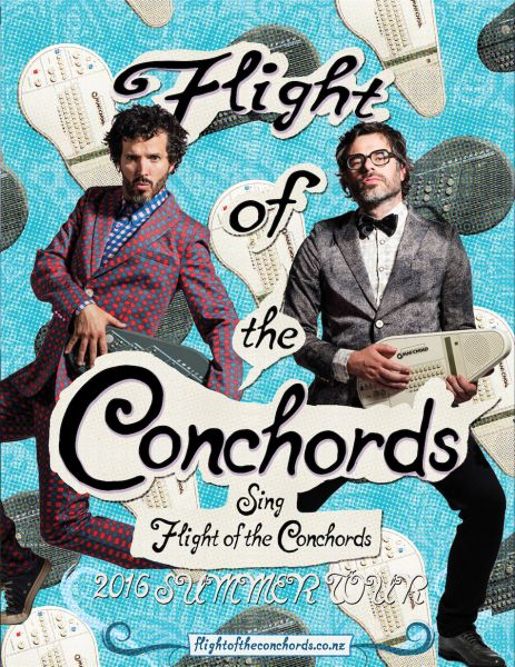 Flight of the Conchords on tour