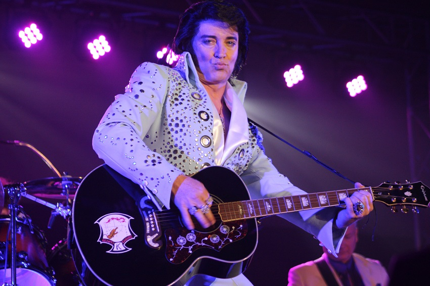 World famous Elvis Tribute Artist Bill Cherry performed at the first ever Texas Tribute to Elvis Festival the first weekend of March 2016.