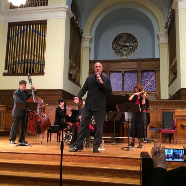 Tangonero performing at San Francisco's Old First Presbyterian Church
