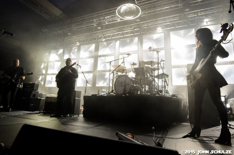 The Pixies perform in Milwaukee at The Rave