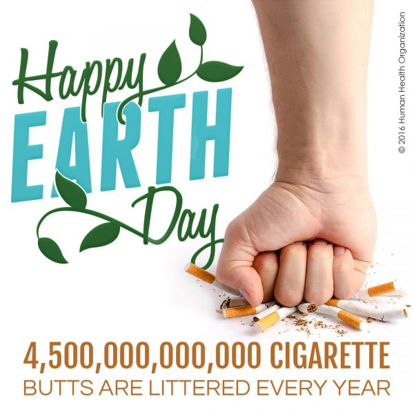 Commit to the Earth this summer by vaping instead of smoking