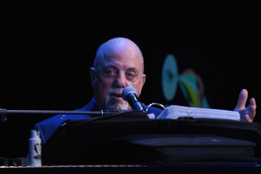 Music star Billy Joel