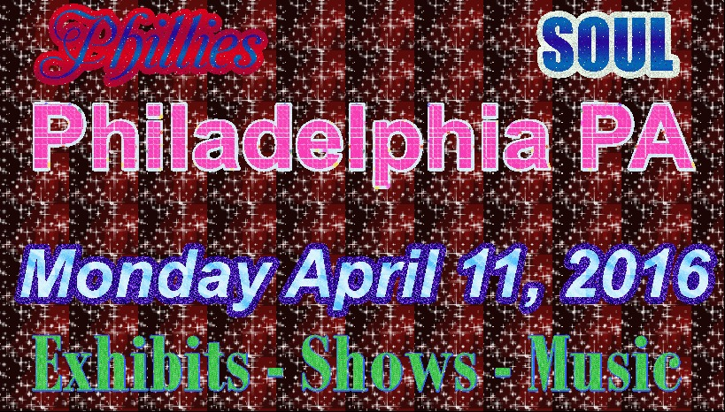 It's the home opener for the Phillies, and that's not all this Monday in Philly.