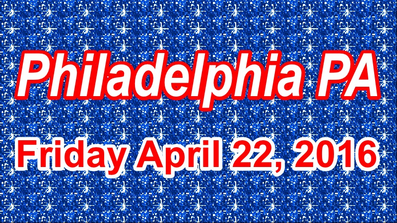 Philadelphia has a great slate of events this Friday.