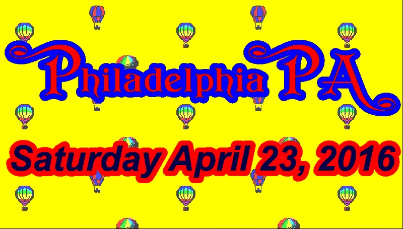 Don't miss any of the action in Philly this Saturday.