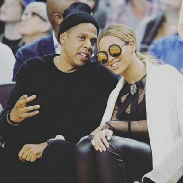 Beyonce and Jay Z in happier times