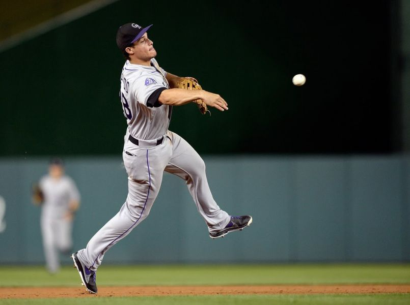 Nolan Arenado of the Rockies has been MLB's best player the first month of the season