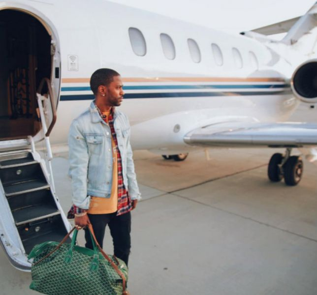 Big Sean is just one of the high flying acts on Las Vegas's strip this weekend.