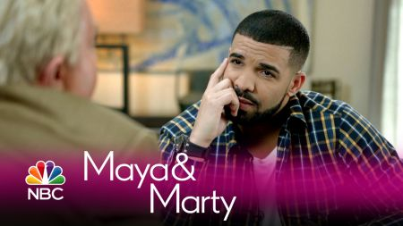 Watch: Jiminy Glick talks with Drake on Maya & Marty, and it gets...interesting