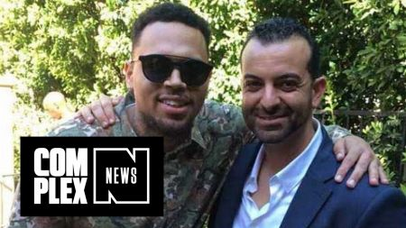 Chris Brown laughs off lawsuit by former manager