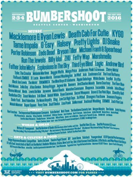 2016 Bershoot Festival Lodging Guide