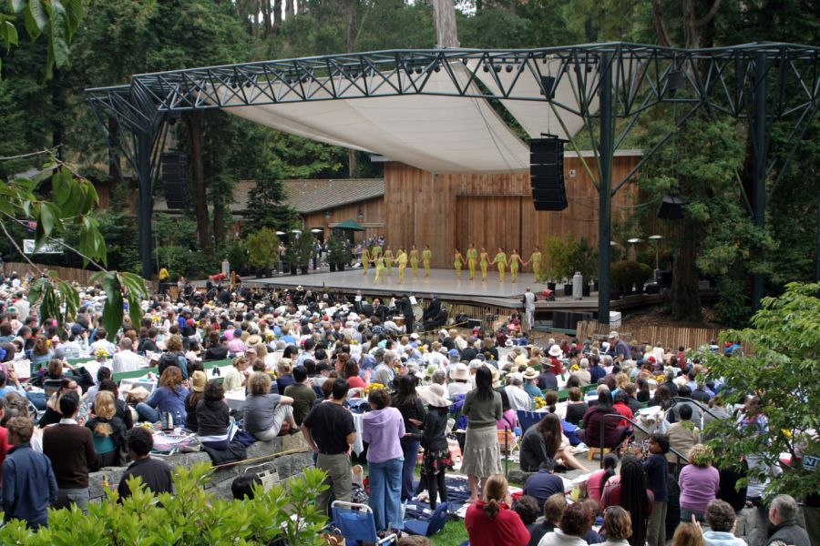 San Francisco Ballet performs at Stern Grove Festival