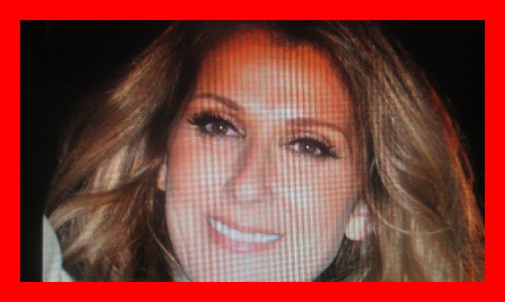 Celine Dion greets her fans with her warm smile.