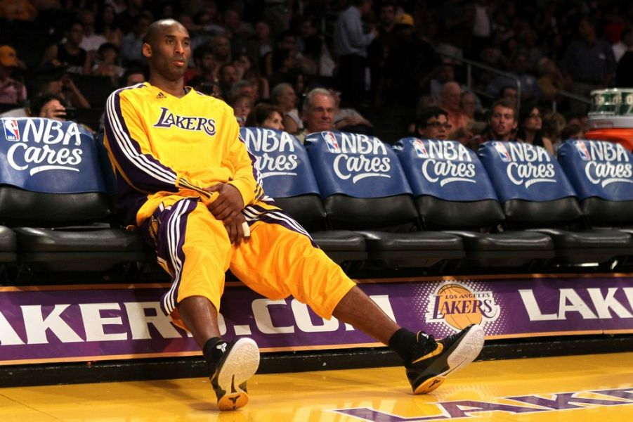 Superstar Kobe Bryant of the Los Angeles Lakers talks about building and sustaining confidence.