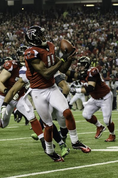 Julio Jones Is Darn Good But He Already The Best Falcons WR Ever