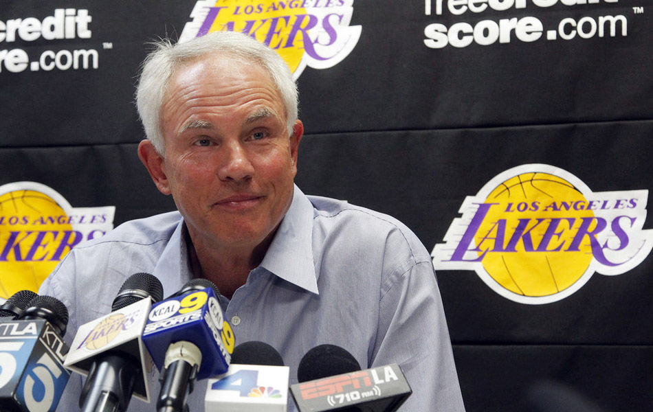GM Mitch Kupchak of the Los Angeles Lakers talks about Kobe Bryant's expectations for his teammates.