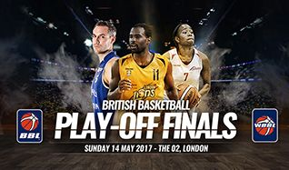 Basketball Play-off Finals tickets at The O2 in London