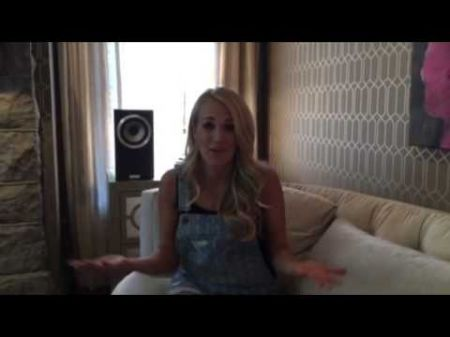 Watch: Carrie Underwood thanks radio for epic launch of 'Smoke Break'