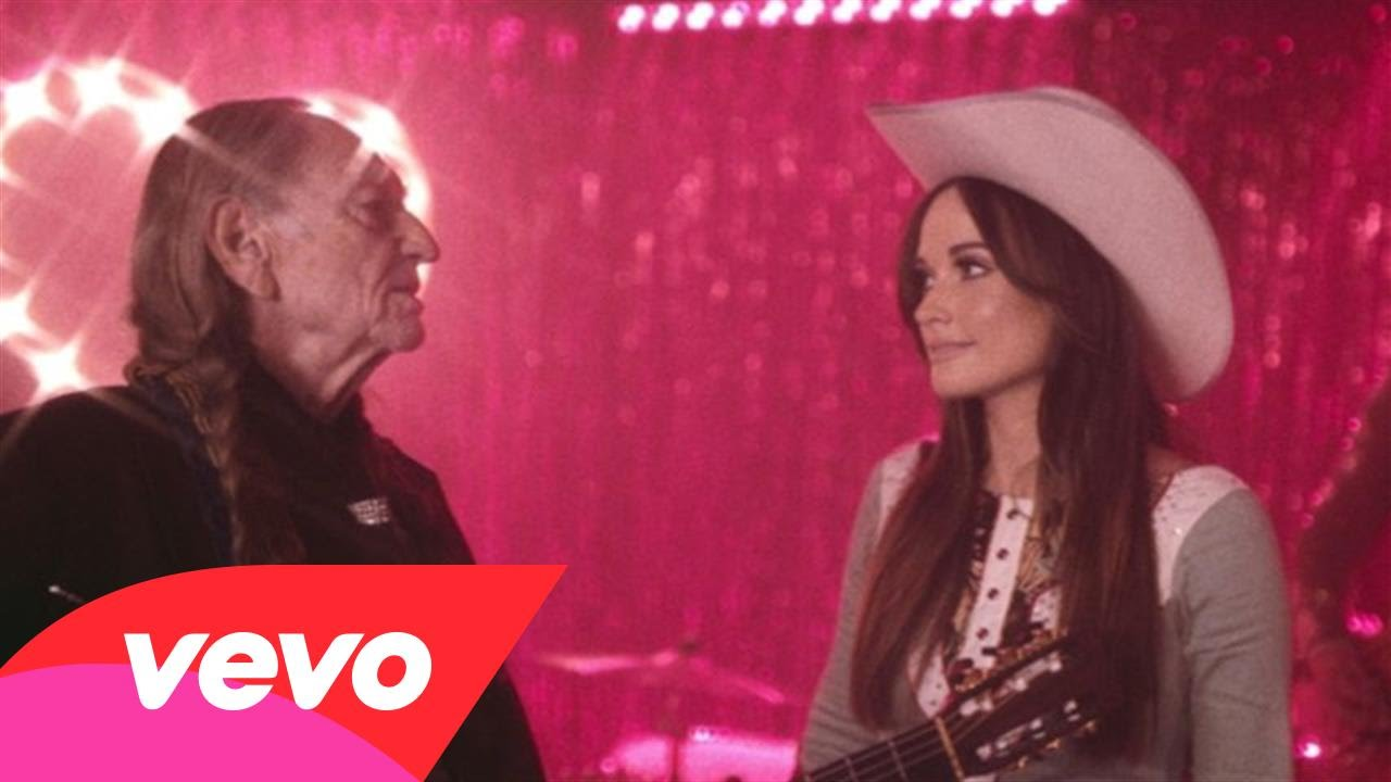 Watch: Kacey Musgraves, Willie Nelson sparkle in 'Are You Sure' video