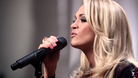 Watch: Carrie Underwood performs new song 'Heartbeat' for Target