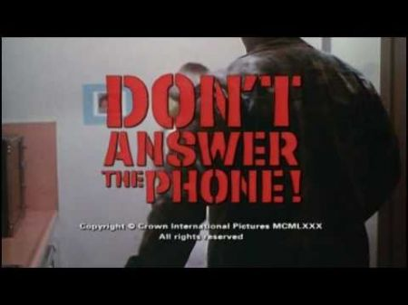 Review of 'Don't Answer the Phone!'