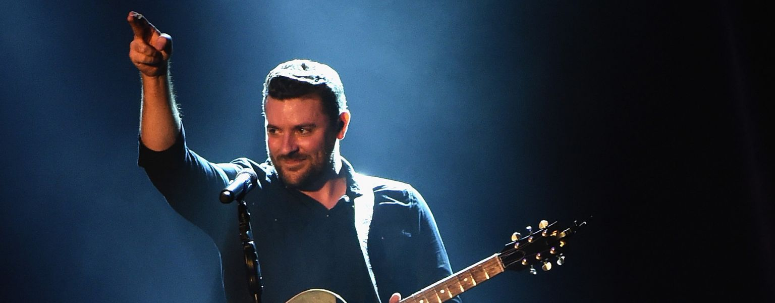 Chris Young headlined a hometown show at Nashville, Tennessee's Ascend Amphitheater on September 30, 2015. Joining him were labelmates Jerro