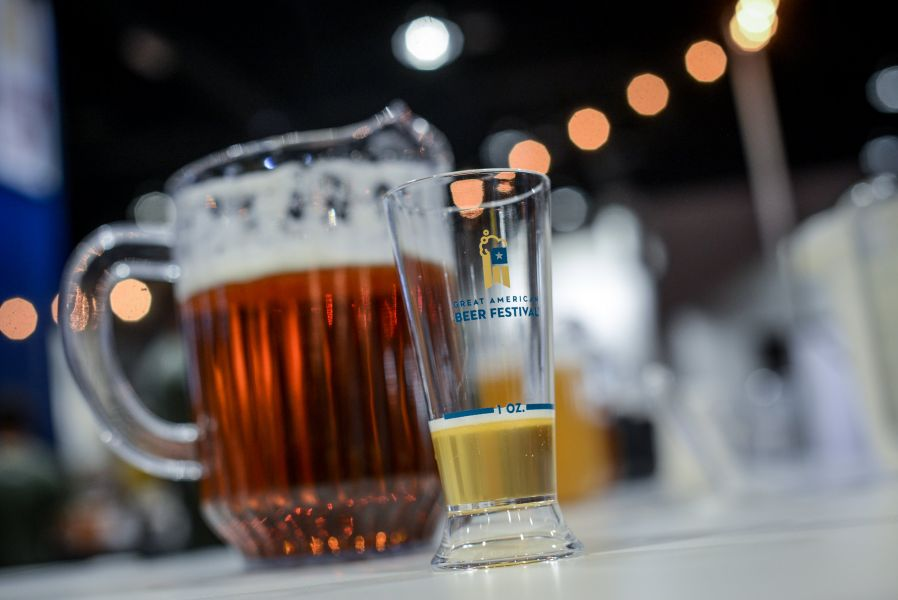 Many states and cities are represented at GABF