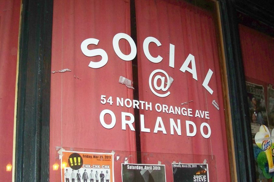The Social live venue in Orlando
