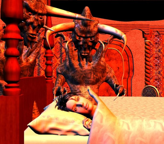 Scary Picture of the Week: Demons Come at Night - AXS