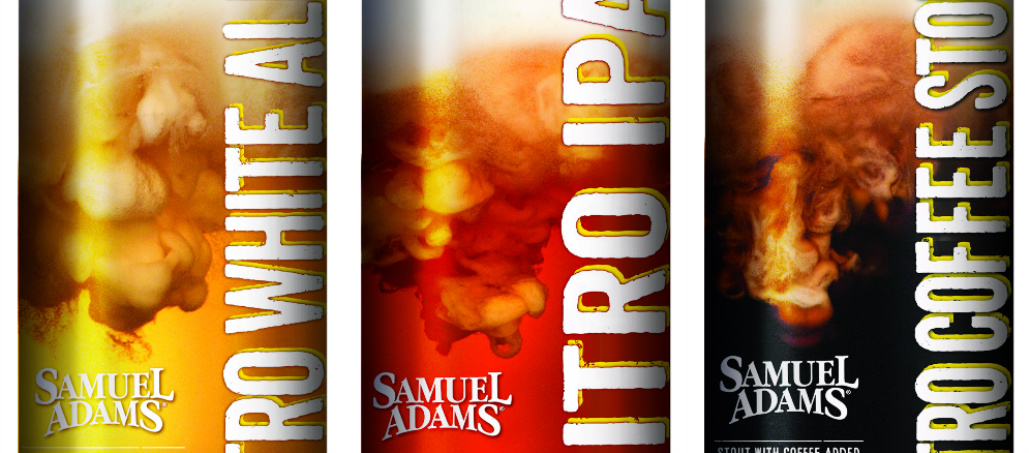 The Boston Beer Company will release three new nitor beers in 2016