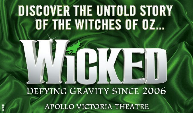 Wicked tickets at Apollo Victoria Theatre, London