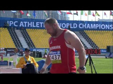 Blair sets world record in men's discus at 2016 Paralympics