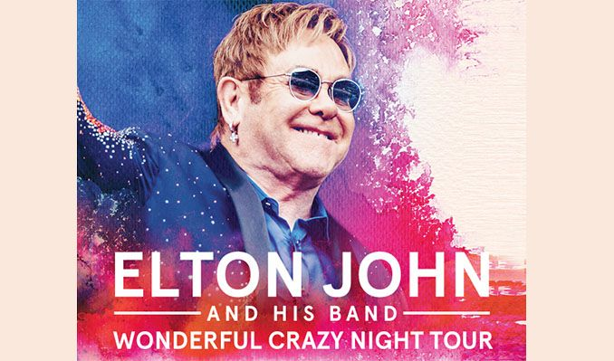 Elton John tickets at first direct arena in Leeds