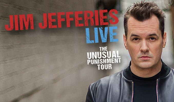Jim Jefferies tickets at Morsani Hall at The Straz Center for the Performing Arts in Tampa