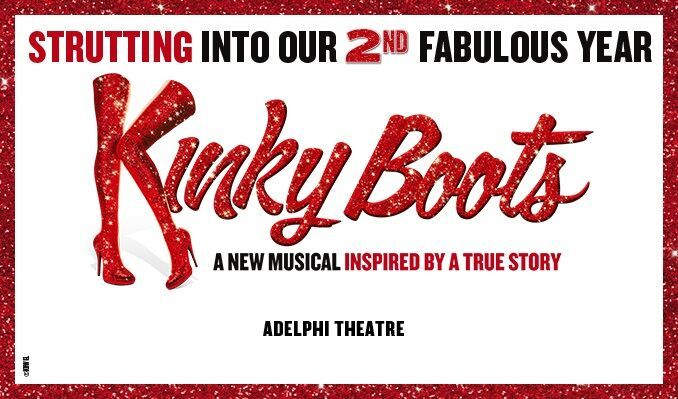Kinky Boots tickets at Adelphi Theatre, London