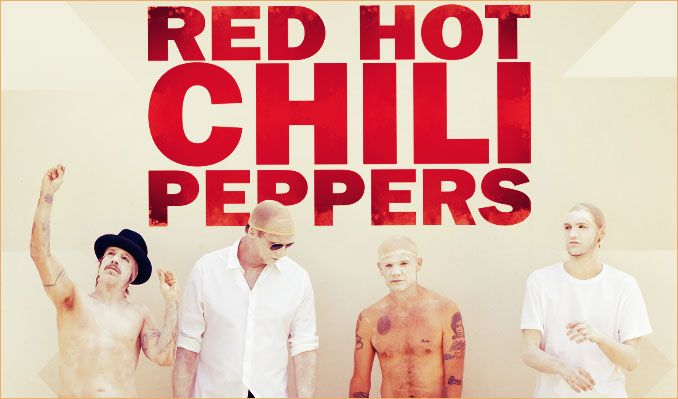 Red Hot Chili Peppers tickets at Gila River Arena, Glendale