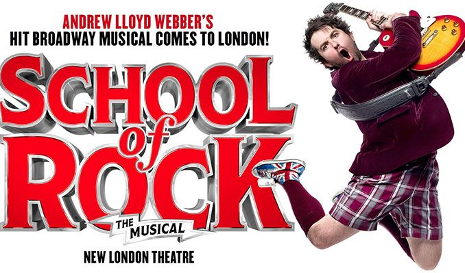 School of Rock The Musical tickets at New London Theatre, London