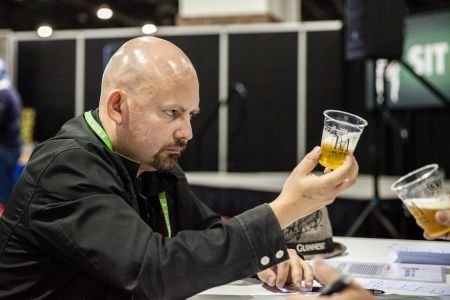 Great American Beer Festival judging happens behind the scenes