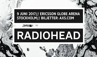 Radiohead tickets at ERICSSON GLOBE/Stockholm Live in Stockholm