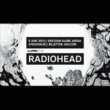Radiohead tickets at ERICSSON GLOBE/Stockholm Live in Stockholm
