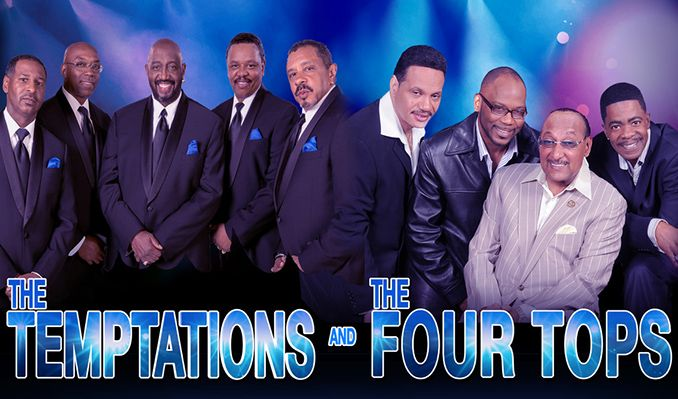 The Temptations & The Four Tops tickets at Peabody Auditorium in Daytona Beach