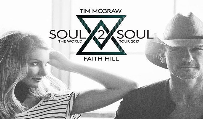 Tim McGraw and Faith Hill tickets at Valley View Casino Center in San Diego